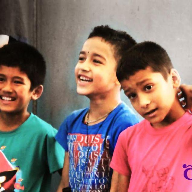 Nepali boys