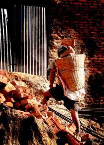 Nepali worker